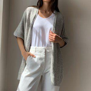 Aritzia Community Ionic Cape Oversized Knitted Open Front Cardigan Size XXS